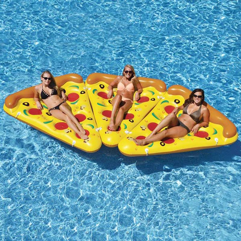 Φουσκωτό Στρώμα Pizza (8 Κομμάτια) 180cm