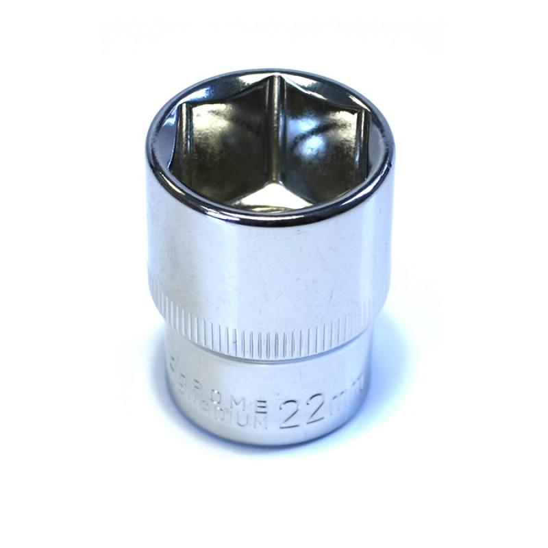Καρυδάκι εξάγωνο Haka Tools 1/2' 22mm
