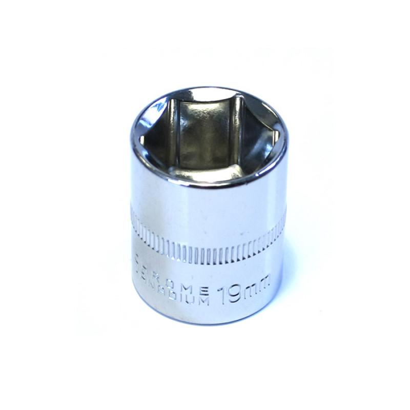 Καρυδάκι εξάγωνο Haka Tools 3/8' 19mm