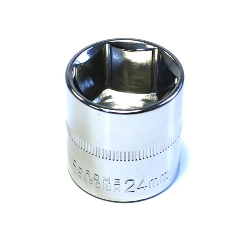 Καρυδάκι εξάγωνο Haka Tools 3/8' 24mm