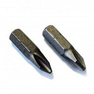 Μύτες για κατσαβίδι PH2 25mm (2 τεμάχια)