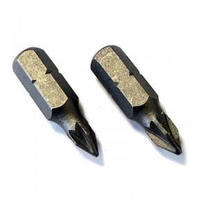 Μύτες για κατσαβίδι PZ1 25mm (2 τεμάχια)