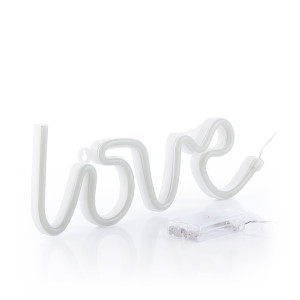Φωτεινή Επιγραφή Love με Φως Νέον Romantic Items