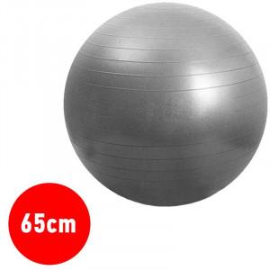 Μπάλα Γυμναστικής YOGA - PILATES 65cm - Ασημί