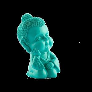 Κουμπαράς σε σχήμα Μωρό Βούδας - Πράσινο