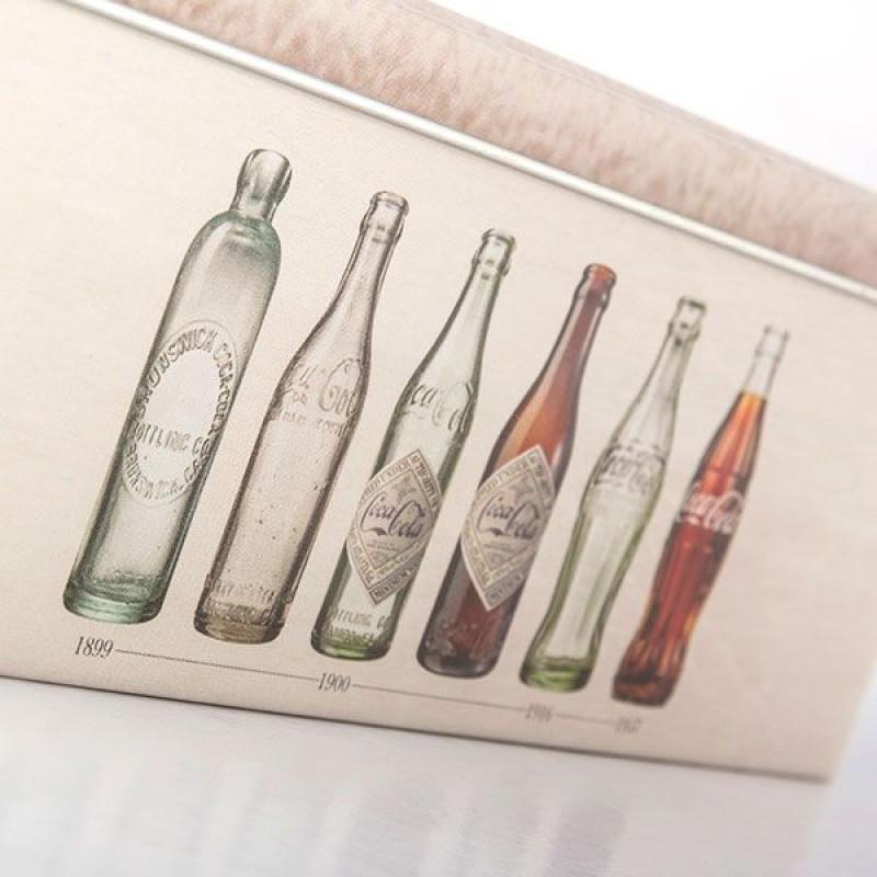 Μεταλλικό Vintage κουτί Coca-Cola
