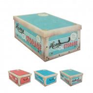 Κουτί αποθήκευσης από χαρτόνι με καπάκι Vintage Oh My Home