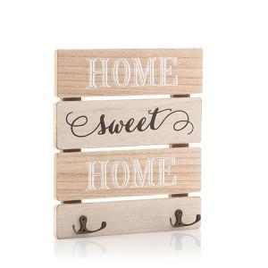 Ξύλινος πίνακας για το κρέμασμα των κλειδιών Sweet Home