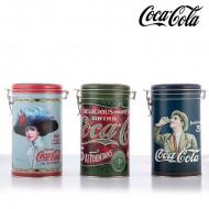 Μεταλλικό Vintage Δοχείο Coca-Cola