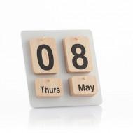 Ξύλινο ημερολόγιο Nature