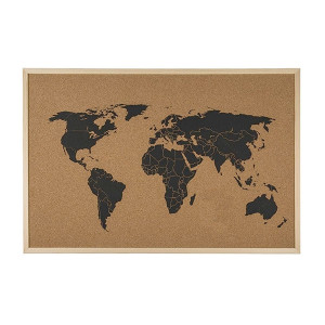 Πίνακας ανακοινώσεων Χάρτης του Κόσμου