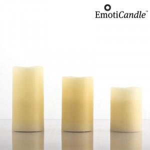 Κεριά LED με Αισθητήρα Κίνησης EmotiCandle (Πακέτο με 3)