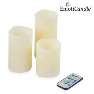 Κεριά LED EmotiCandle (Συσκευασία των 3)