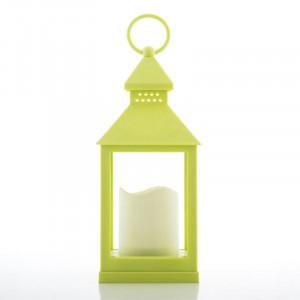 Φανάρι με Κερί LED Oh My Home - Πράσινο