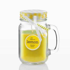 Αρωματικό κερί σε βάζο Wagon Trend - Κίτρινο