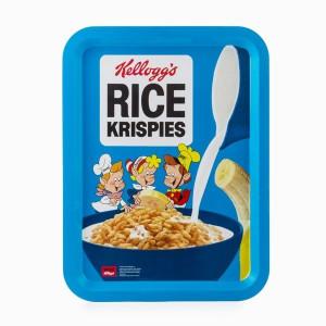 Μεταλλικός δίσκος Vintage Kellogg's Rice Krispies