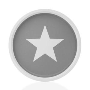 Στρογγυλός μεταλλικός δίσκος Wagon Trend Star