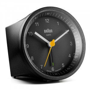 Ρολόι Ξυπνητήρι Αναλογικό Braun BNC-007-BKBK - Μαύρο