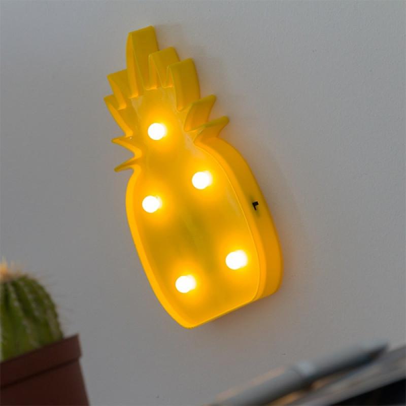 Διακοσμητικός Ανανάς Wagon Trend - Πλαστικό (5 LED)