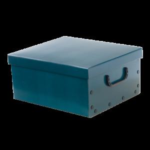 Κουτί αποθήκευσης από χαρτόνι με καπάκι Classic Oh My Home