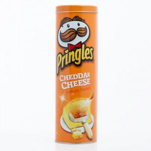 Μεταλλικό Δοχείο Pringles - Πορτοκαλί