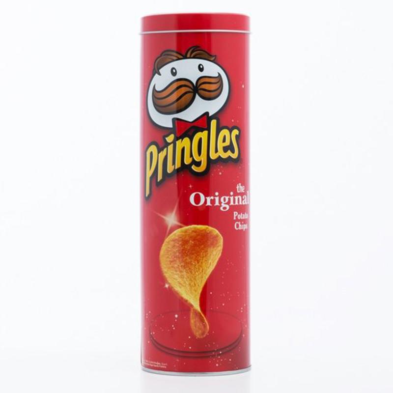 Μεταλλικό Δοχείο Pringles - Κόκκινο