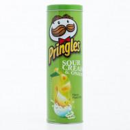 Μεταλλικό Δοχείο Pringles - Πράσινο