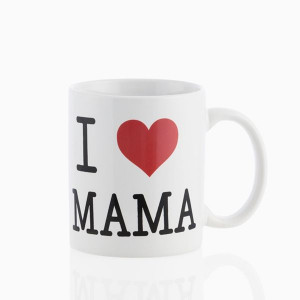 Κούπα κεραμική Romantic Items με Λογότυπο I Love Mama