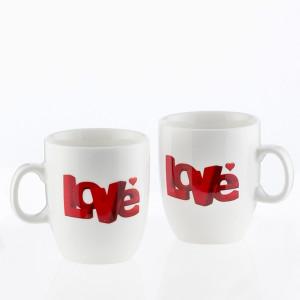 Κούπες Love Romantic Items Σετ 2 τεμάχια