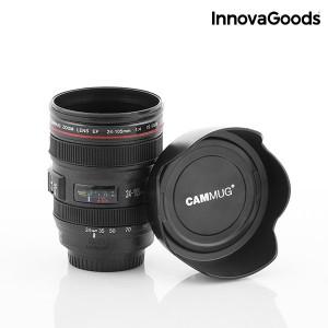 Κούπα με καπάκι τύπου φακός φωτογραφικής μηχανής πολλαπλών χρήσεων InnovaGoods