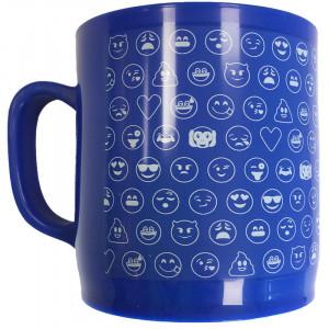 Κούπα Πλαστική Emoticonworld με Λογότυπο Emoji Mosaic - Μπλε