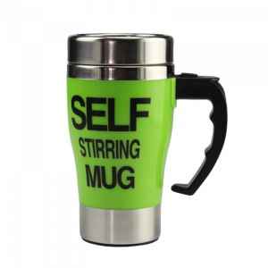 Self Stirring Mug 400ml - Πράσινο