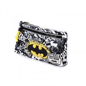 Σχολική Κασετίνα DC Comics Batman με διαστάσεις 12x22x3cm.