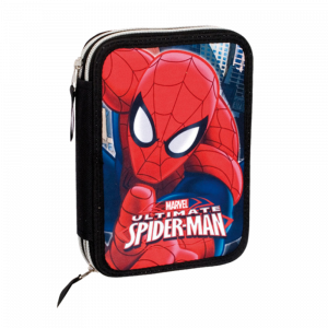 Σχολική Διπλή κασετίνα Perona Marvel Spiderman