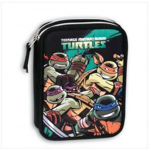 Σχολική Διπλή κασετίνα Perona Ninja Turtles
