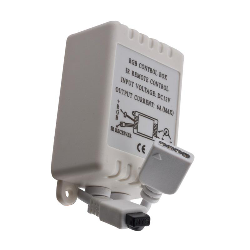 Forever Controller για Ταινίες LED IR 24 Προγράμματα 72W