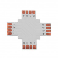 LED Strip Connector type + RGB 10mm 4 PINS