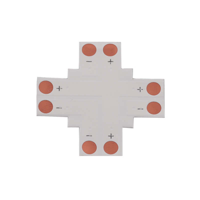 LED Strip Connector type + PCB 8mm 2 PINS