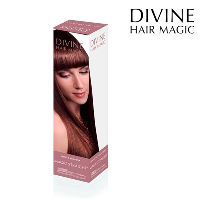 Ηλεκτρική Βούρτσα Ισιώματος Μαλλιών Divine Hair Magic