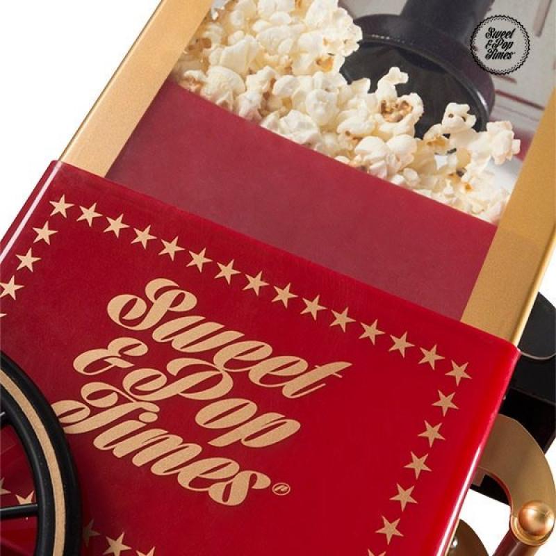Παρασκευαστής Popcorn APPETITISSIME Sweet & Pop 1200W - Κόκκινο