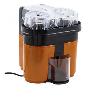 Ηλεκτρικός Αποχυμωτής DELIZIUS DELUXE Double Orange Juicer 0.5L 90W - Πορτοκαλί / Μαύρο