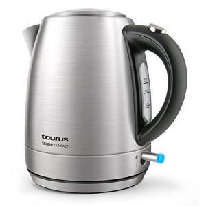 Ηλεκτρικός Βραστήρας TAURUS Selene Compact 1L 2200W - Ασημί