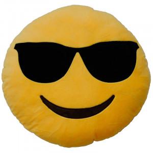 Μαξιλαράκι Βελούδινο Emoticonworld Cool 32 cm