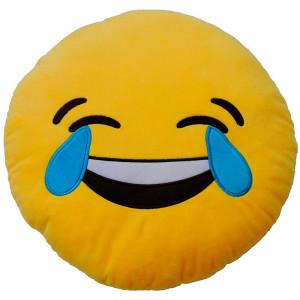 Μαξιλαράκι Βελούδινο Emoticonworld Laughter 32 cm