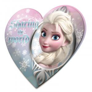 Μαξιλαράκι Kids Licensing Disney Frozen σε σχήμα καρδιάς