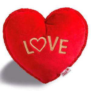 Μαξιλαράκι βελούδινο Nici σε σχήμα καρδιάς