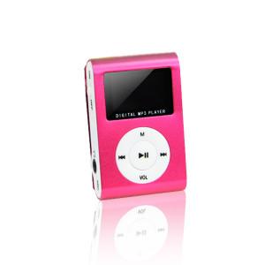 """Φορητό MP3 Player Setty Portable Mini με Οθόνη 1"""" και Ακουστικά - Κόκκινο"""