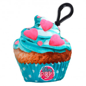 1870954c52 Μαξιλαράκι μπρελόκ κλειδιών Blue Cupcake Oh My Pop KaracterMania