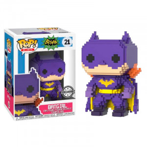 Funco POP! DC Comics 8-Bit Batgirl