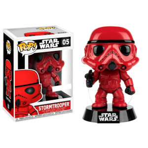Funco POP! Star Wars Red Stormtrooper